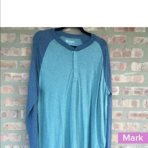 NWT Lularoe Mens Mark Med Long Sleeve